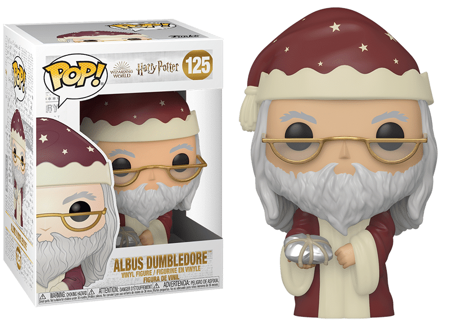 Funko Pop! Harry Potter: Holiday Dumbledore #125