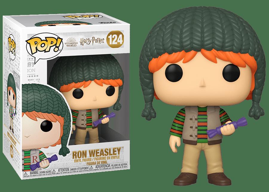 Funko Pop! Harry Potter: Holiday Ron #124
