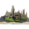 Harry Potter 3D Pop-Up Card: Hogwarts