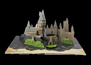 Harry Potter 3D Pop-Up Card: Hogwarts