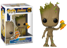 Funko Pop! Avengers Infinity War: Groot with Stormbreaker #416