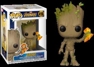 Funko Pop! Avengers Infinity War: Groot with Stormbreaker #416