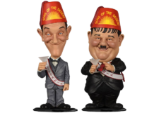 Bobble-Head: Laurel and Hardy