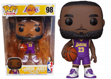 Funko Pop! NBA: 10 Inch LeBron James (purple jersey) #98