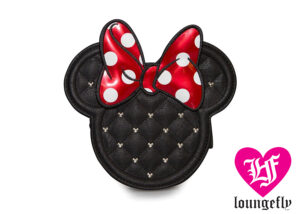 Loungefly: Quilted Minnie Mouse Crossbody Bag