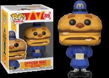 Funko Pop! McDonald's: Officer Mac #89