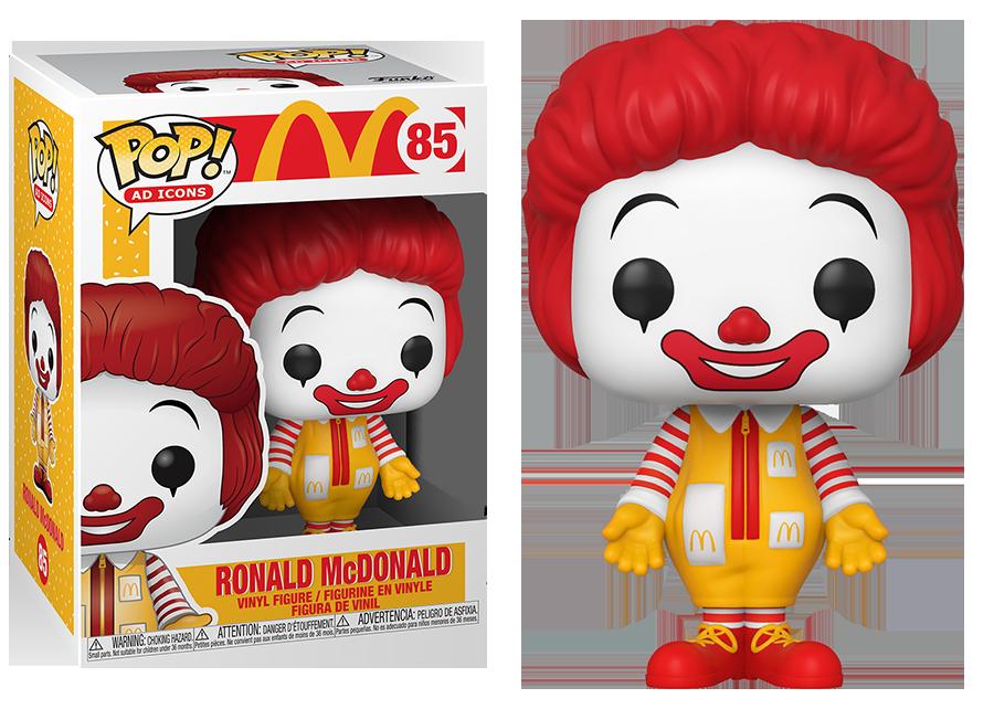 Funko Pop! McDonalds: Ronald McDonald #85