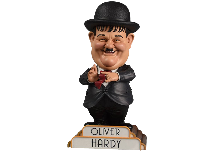 Bobble-Head: Oliver Hardy in Suit