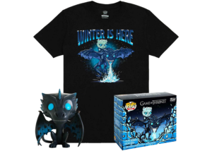 Funko Pop & Tee: Game of Thrones - Icy Viserion