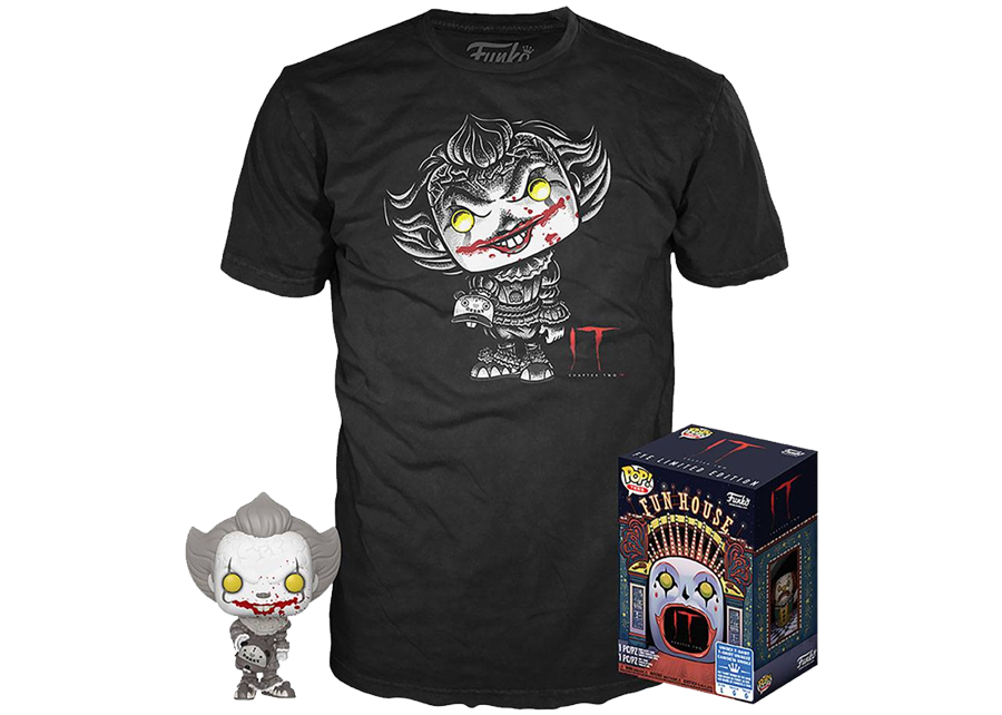 Funko Pop! & Tee IT Chapter 2: Pennywise #830