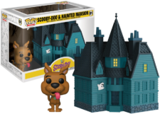 Funko Pop! Town Scooby-Doo: Haunted Mansion #01