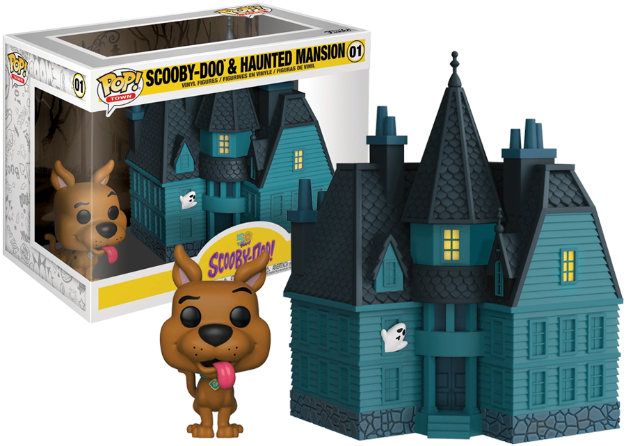 Scooby Doo /& Haunted Mansion 01-50 Years Anniversary Edition Funko POP TOWN