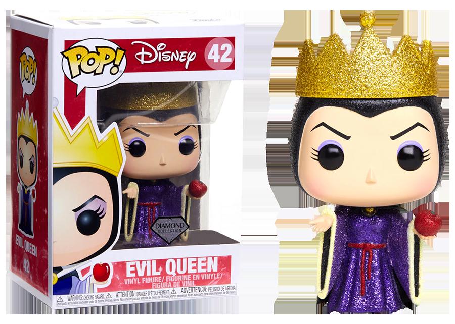 Funko Pop! Snow White: Evil Queen (DGLT) #42