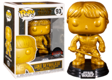 Funko Pop! Star Wars: Luke Skywalker (gold) #93
