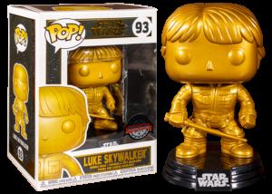 Funko Pop! Star Wars: Luke Skywalker (gold) #93