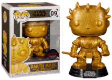 Funko Pop! Star Wars: Darth Maul (gold) #09