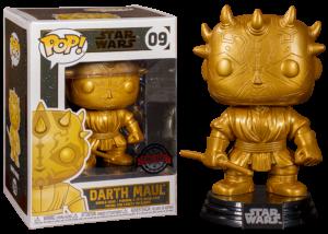 Funko Pop! Star Wars: Darth Maul (gold) #09