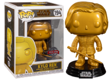 Funko Pop! Star Wars: Kylo Ren (gold) #194