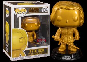 Funko Pop! Star Wars: Kylo Ren (gold) #194
