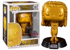 Funko Pop! Star Wars: Princess Leia (gold) #287