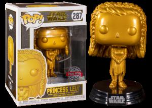 Funko Pop! Star Wars: Princess Leia (gold) #287