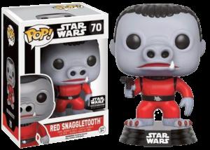 Funko Pop! Star Wars: Red Snaggletooth #70