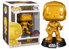 Funko Pop! Star Wars: Rey (gold) #114