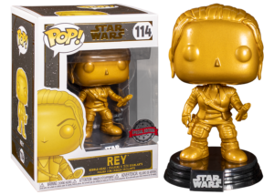 Funko Pop! Star Wars: Rey (gold) #114