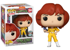 Funko Pop! Teenage Mutant Ninja Turtles: April O'Neil #34