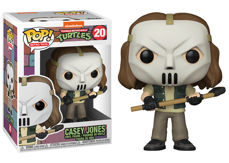 Funko Pop! Teenage Mutant Ninja Turtles: Casey Jones #20