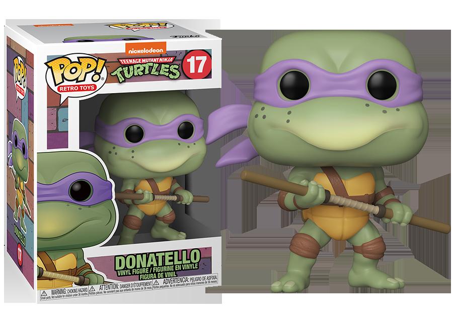Funko Pop! Teenage Mutant Ninja Turtles: Donatello #17