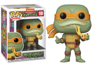 Funko Pop! Teenage Mutant Ninja Turtles: Michelangelo #18