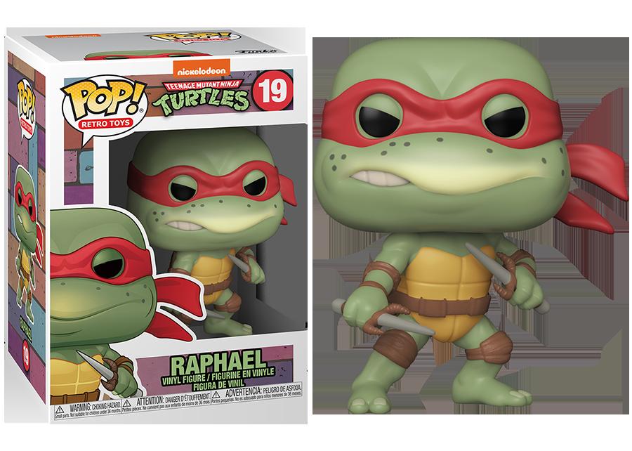 Funko Pop! Teenage Mutant Ninja Turtles: Raphael #19