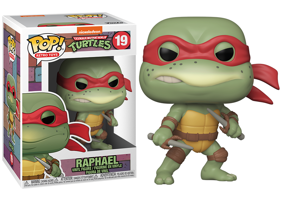 Funko Pop! Teenage Mutant Ninja Turtles: Raphael #19