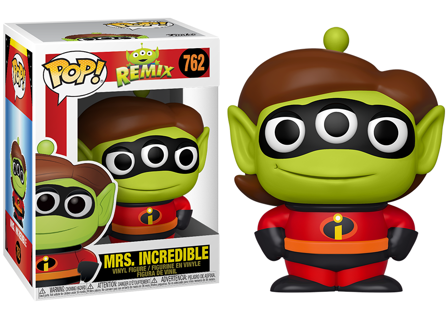 Funko Pop! Alien Remix: Mrs Incredible #762