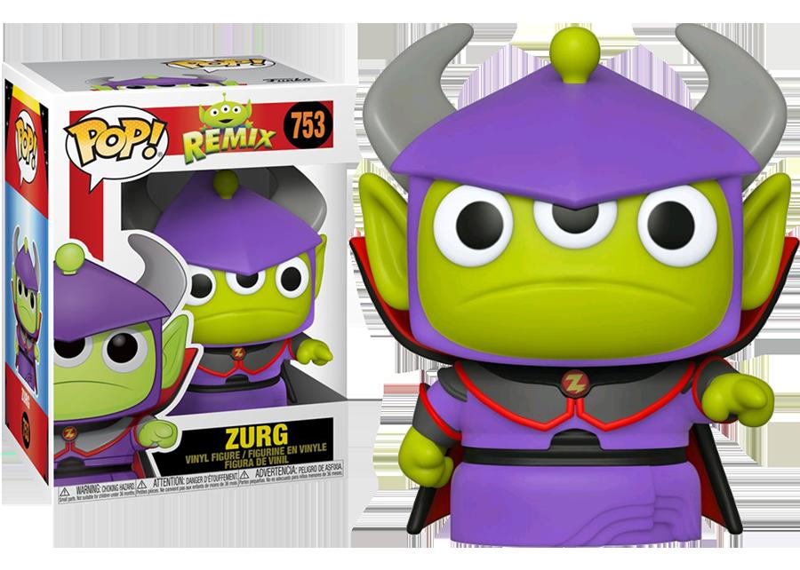 Pop Pixar Zurg n°753 Alien Remix Funko