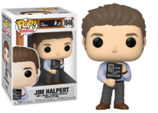 Funko Pop! The Office: Jim with Nonsense Sign #1046