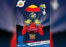 Toy Story D-Stage: Alien's Rocket Deluxe Edition