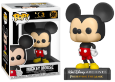 Funko Pop! Walt Disney Archives: Mickey Mouse #801