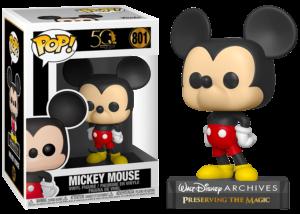 Funko Pop! Walt Disney Archives: Mickey Mouse #801