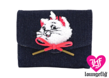 Loungefly: The Aristocats Marie Denim Wallet