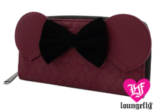 Loungefly: Minnie Mouse: Bordeaux Wallet