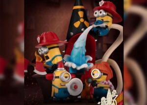 Beast Kingdom D-Stage: Minions Fire Fighter