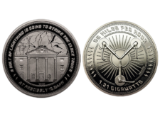 Collectable Coin: Back to the Future 25th Anniversary