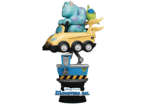 Beast Kingdom D-Stage: Monsters Inc Coin Ride