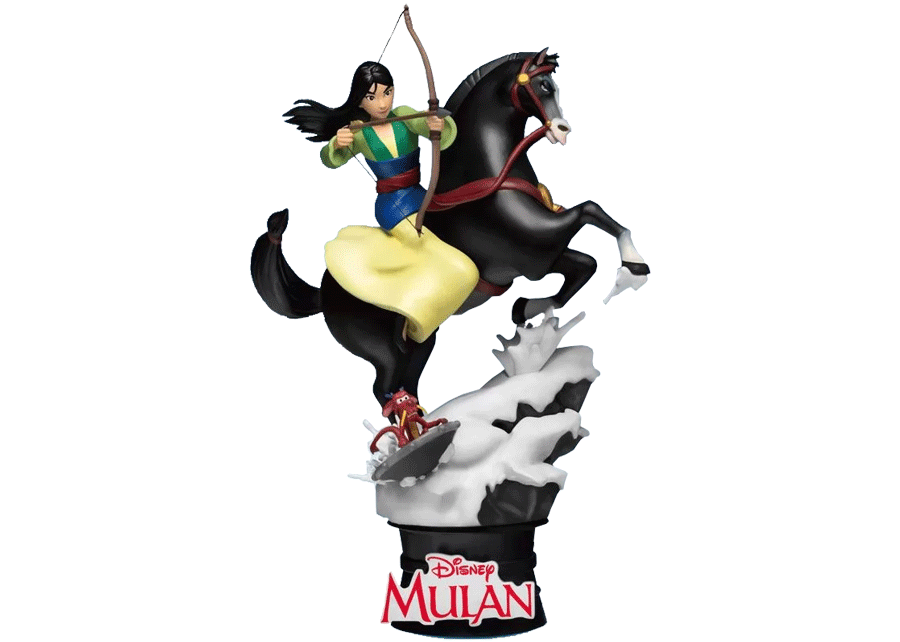 Beast Kingdom D-Stage: Mulan on Khan