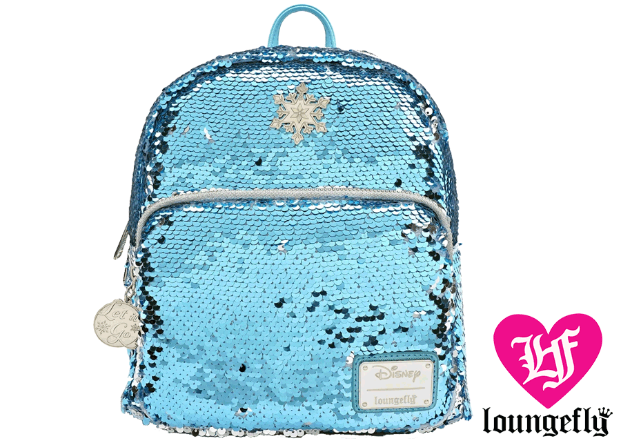 Loungefly: Frozen Elsa Sequin Mini Backpack