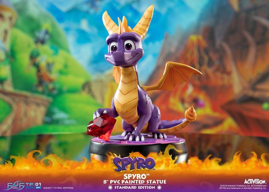 First 4 Figures: Spyro the Dragon