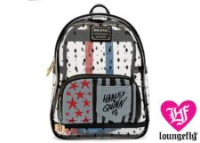 Loungefly: Harley Quinn Clear Mini Backpack