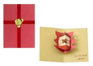 Harry Potter 3D Pop-Up Greeting Card Howler